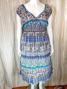 Mlle Gabrielle stretchy light dress plus size